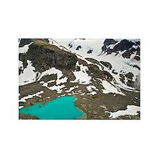 Glacial lake - Rectangle Magnet