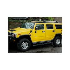 Hummer 4x4 vehicle - Rectangle Magnet