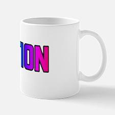 ERECTION RAINBOW TEXT Mug