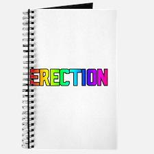 ERECTION RAINBOW TEXT Journal