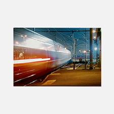 TGV train - Rectangle Magnet
