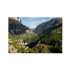 The Vikos Gorge in Greece - Rectangle Magnet