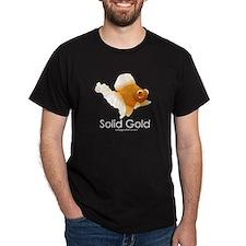 Men's Cartoon Logo SOLID GOLD T-Shirt (Colors)