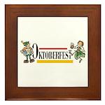Oktoberfest Framed Tile