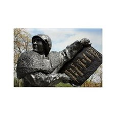 Women's rights statue, Canada - Rectangle Magnet