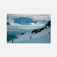Antarctic climbing - Rectangle Magnet