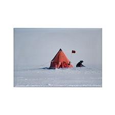 Antarctic field camp - Rectangle Magnet