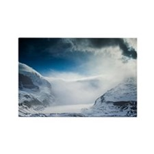 Athabasca Glacier, Canada - Rectangle Magnet