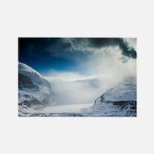 Athabasca Glacier, Canada - Rectangle Magnet
