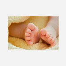 Baby's feet - Rectangle Magnet