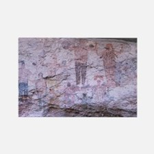 Cave paintings, Mexico - Rectangle Magnet