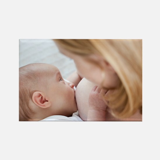 Breastfeeding - Rectangle Magnet