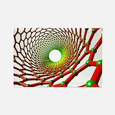 Carbon nanotube - Rectangle Magnet