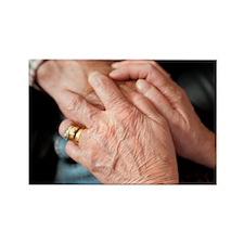 Geriatric care - Rectangle Magnet