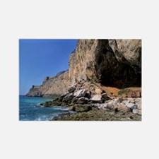 Gorham Cave, Gibraltar - Rectangle Magnet