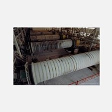 Grinding mill in cement plant - Rectangle Magnet
