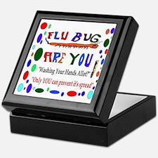 Flu Epidemic Funny Keepsake Box