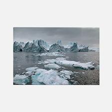 Icebergs - Rectangle Magnet