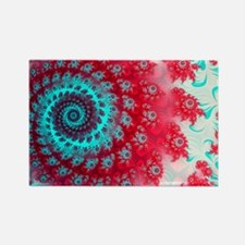 Ju lia fractal - Rectangle Magnet
