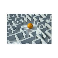 Maze, artwork - Rectangle Magnet