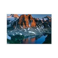 Mount Assiniboine - Rectangle Magnet