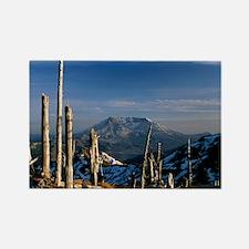Mount St Helens volcano - Rectangle Magnet