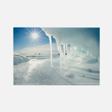 Melting Arctic ice, Canada - Rectangle Magnet