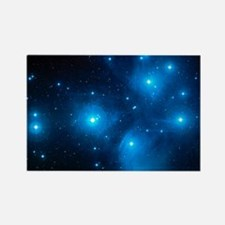 Pleiades star cluster (M45) - Rectangle Magnet