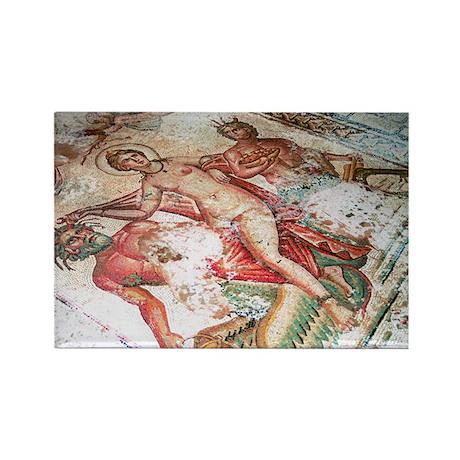 Roman mosaic - Rectangle Magnet