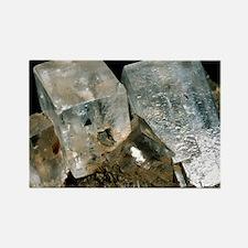 Rock salt crystals - Rectangle Magnet