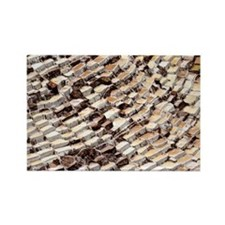 Salt pans - Rectangle Magnet