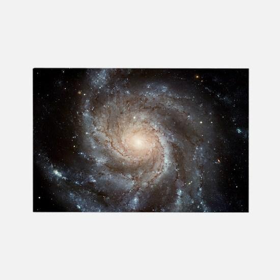 Spiral galaxy M101 - Rectangle Magnet