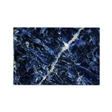 Sodalite mineral - Rectangle Magnet