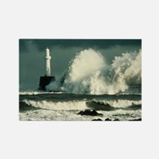 Storm waves - Rectangle Magnet