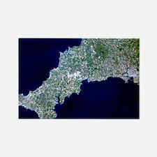 Cornwall, UK - Rectangle Magnet