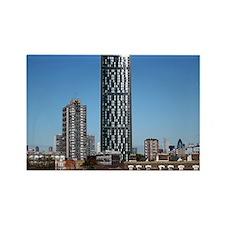 Strata skyscraper - Rectangle Magnet
