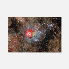 Trifid Nebula - Rectangle Magnet