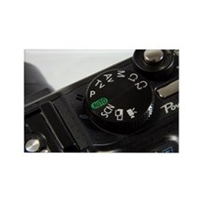 Camera settings dial - Rectangle Magnet