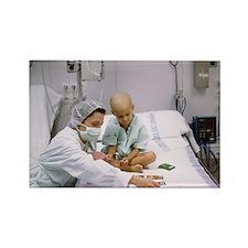 s in hospital - Rectangle Magnet