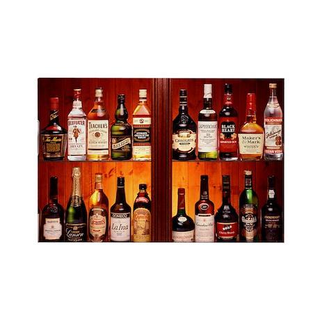 Drinks cabinet - Rectangle Magnet