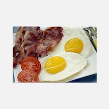 Full English breakfast - Rectangle Magnet