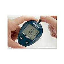 Blood glucose meter - Rectangle Magnet
