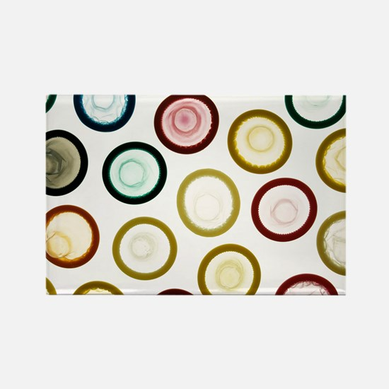 Condoms - Rectangle Magnet