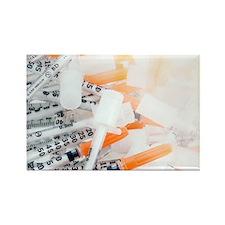 Insulin syringes - Rectangle Magnet