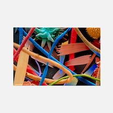 Household dust - Rectangle Magnet