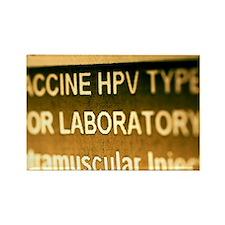 Human papillomavirus vaccine - Rectangle Magnet