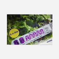 Nutritional information - Rectangle Magnet