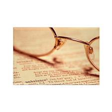 Reading glasses - Rectangle Magnet