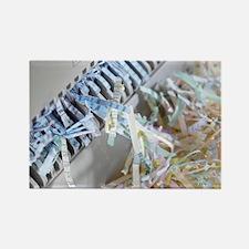 Paper shredder - Rectangle Magnet