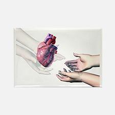 Organ donation - Rectangle Magnet